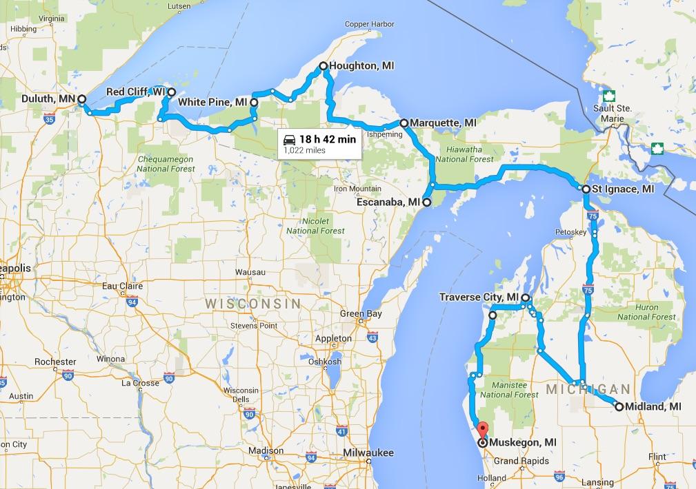 Road Trip Maps U2013 MattBu0026#39;s Travel Blog